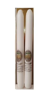Set van 2 kaarsen 22 cm SCHERPENHEUVEL