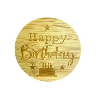 Light Up Your Life  Deksel HAPPY BIRTHDAY