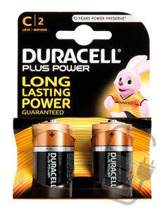 "Duracell Batterijen  -Pack van 2-  LR14 of "" C ""-size"
