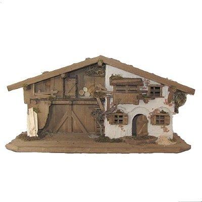 Kerststal PUCHHOF 80x30x40 cm   voor 9-12 cm figuren