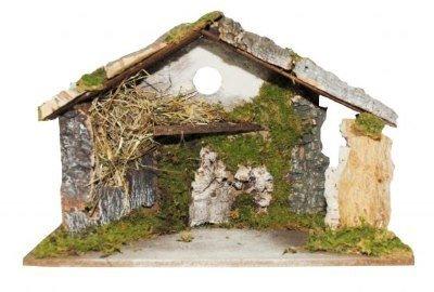 Kerststal voor 10 - 15 cm figuren