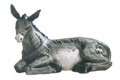 Ezel, onbreekbaar materiaal, voor figuren van 40 cm