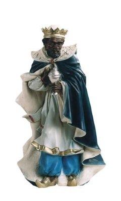 Koning Staand Moor, onbreekbaar materiaal, voor figuren van 40 cm