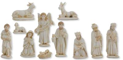 Set van 11 Figuren   11 cm   WIT