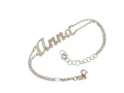 Armband met naam in 925 Zilver