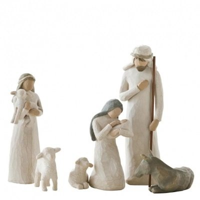 Nativity Set  26005  Willow Tree