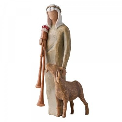 Zampagnaro  Herder met Doedelzak 27183   Willow Tree