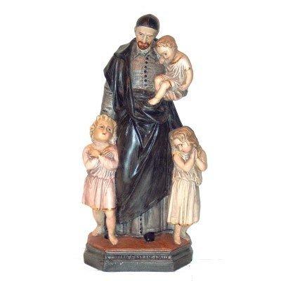 Vincentius van Paolo 45 cm Franse Steen