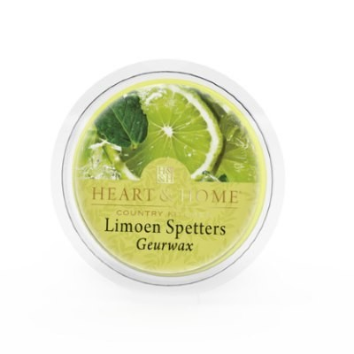 Geurwax: Limoen Spetters