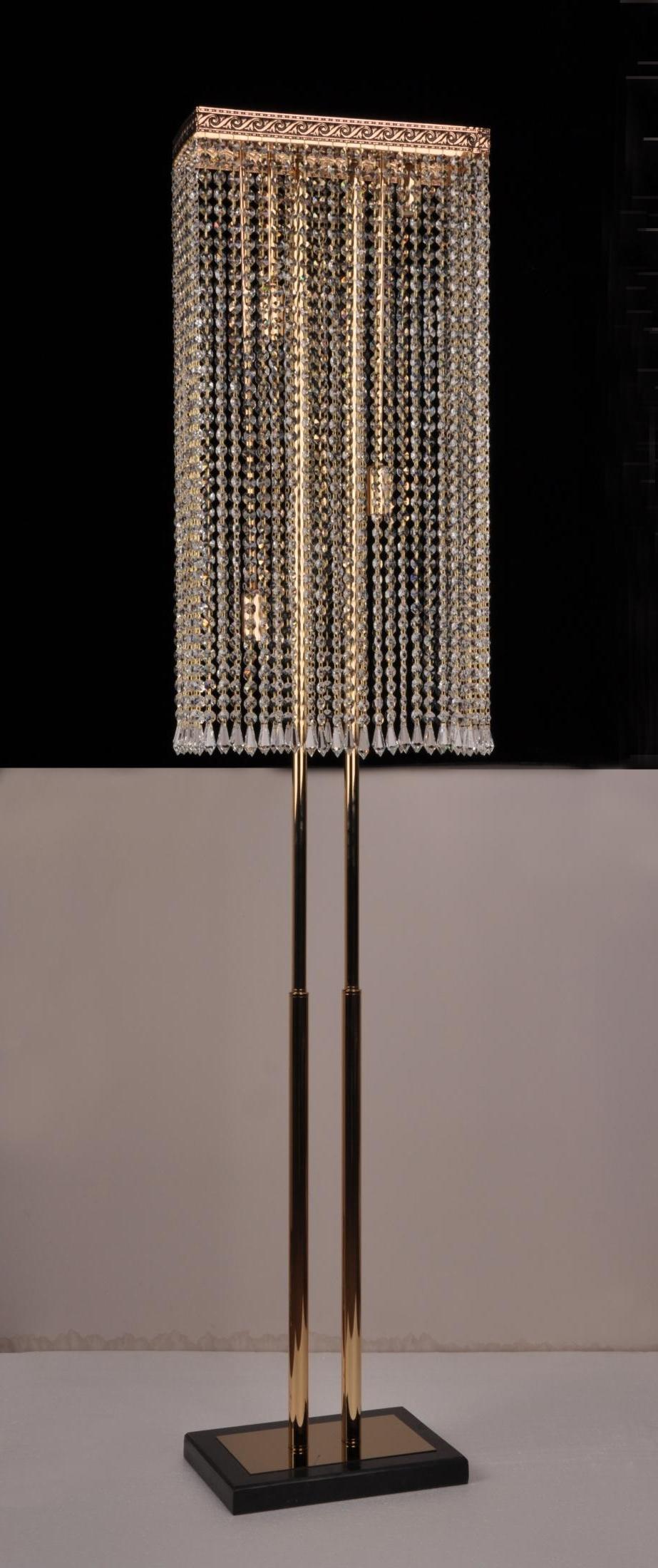 Торшер Veneto Luce T8604/4 FGD+BK