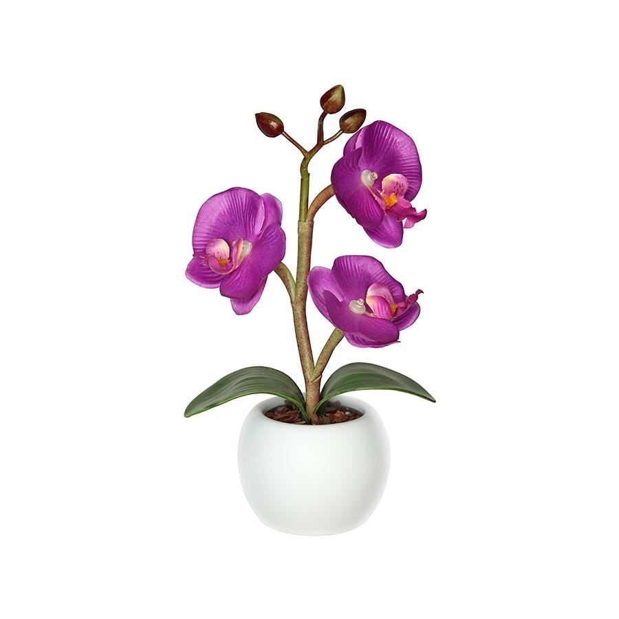 """Настольный декоративный светильник """"Орхидея"""" маленькая 23.5x8"""