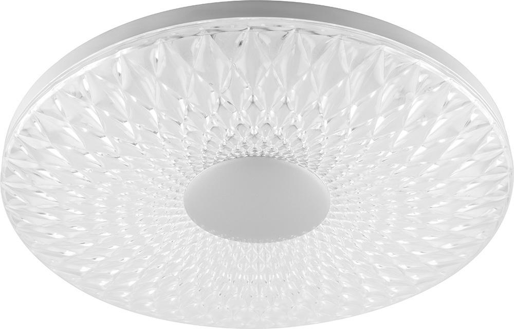 Светодиодный управляемый светильник AL5250 тарелка 100W 3000К-6500K матовый белый