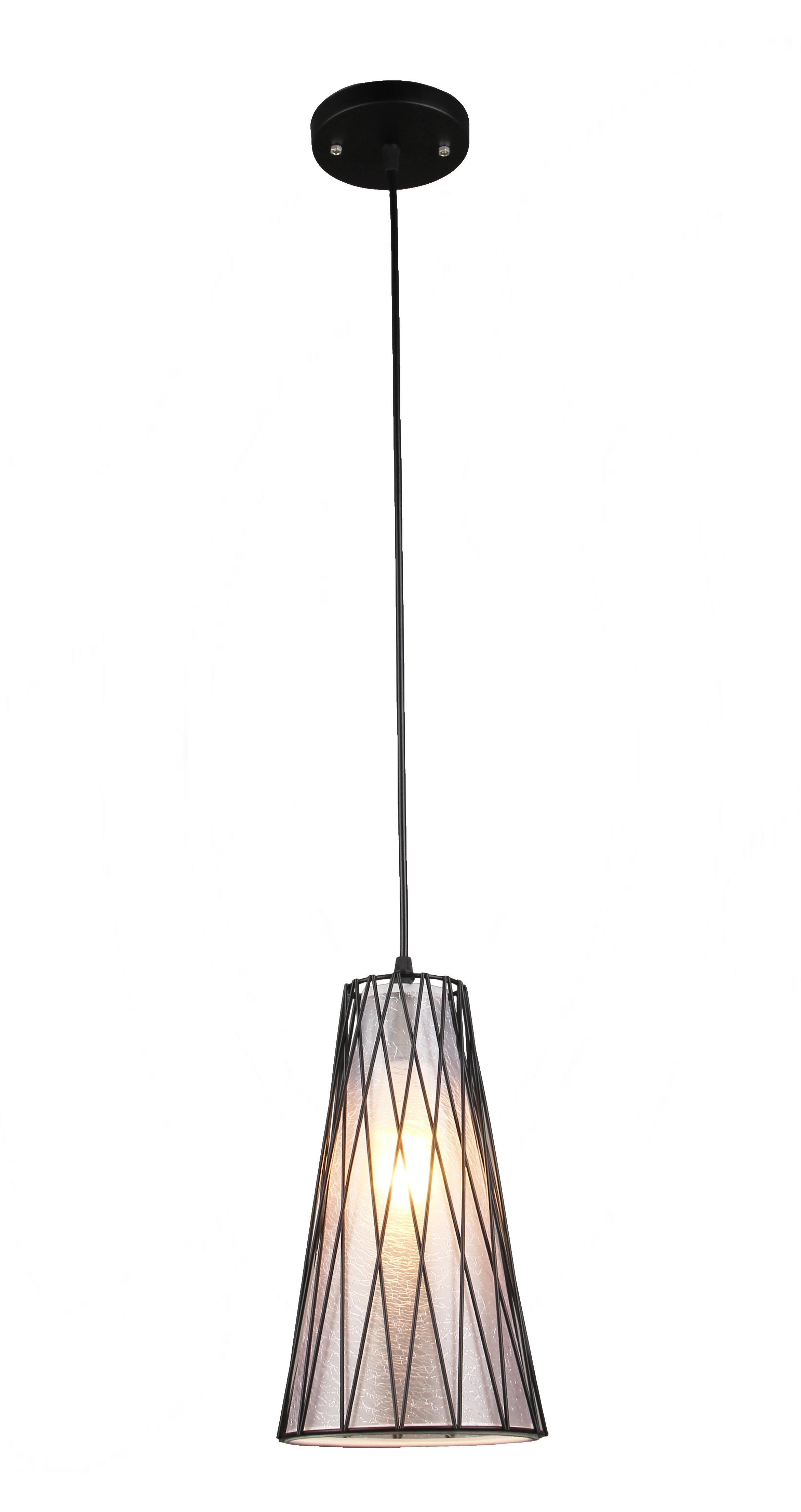 Светильник подвесной N 3415/1H BK