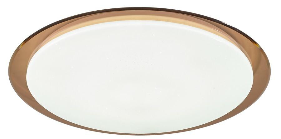 Светильник светодиодный управляемый ЭРА SPB-6 управляемый св-к-люстра св/д 70W(5950lm) 2K-4K-6К пульт ДУ Saturn (B) корич 556х76 6376