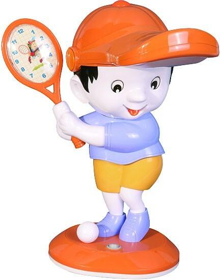 Ученические лампы детский с часами HL047 15W G10q 220-240V 400x205мм Мальчик