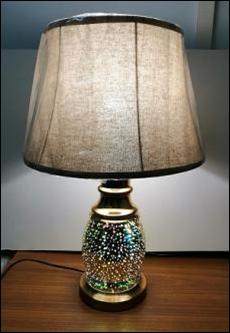 Настольная лампа T8910 эффект 3D