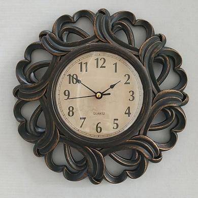 Часы настенные 2854C 1)античный черный 2)античная медь