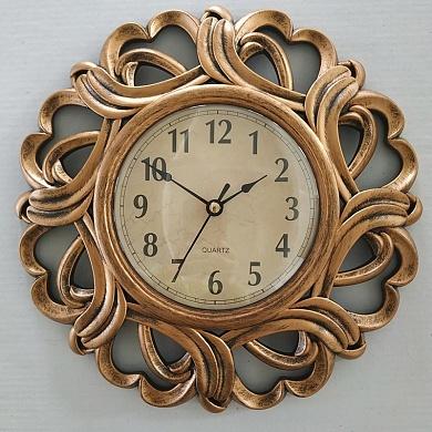 Часы настенные 2854C  античная медь