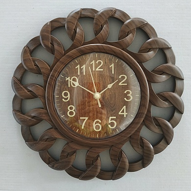 Часы настенные 3045 темное дерево