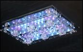 Люстра JL MP7155/6 CR LED, пульт