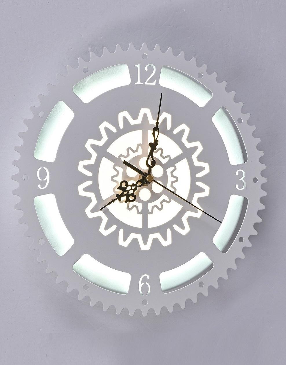 Часы с LED подсветкой 23вт 6248-23W White