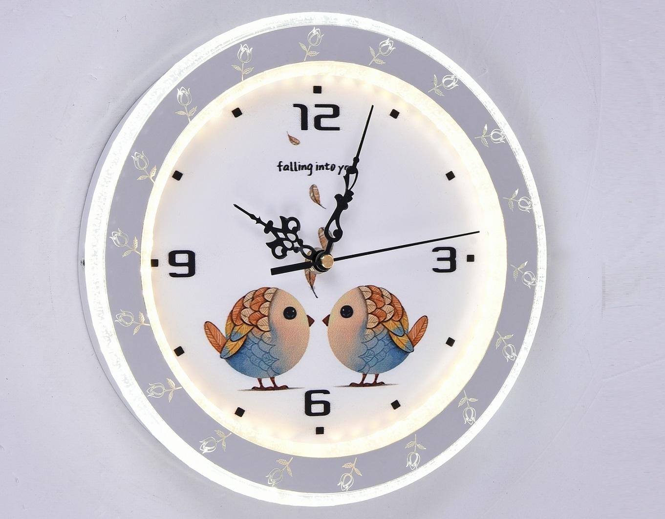 Часы с LED подсветкой 28вт 6485-28W