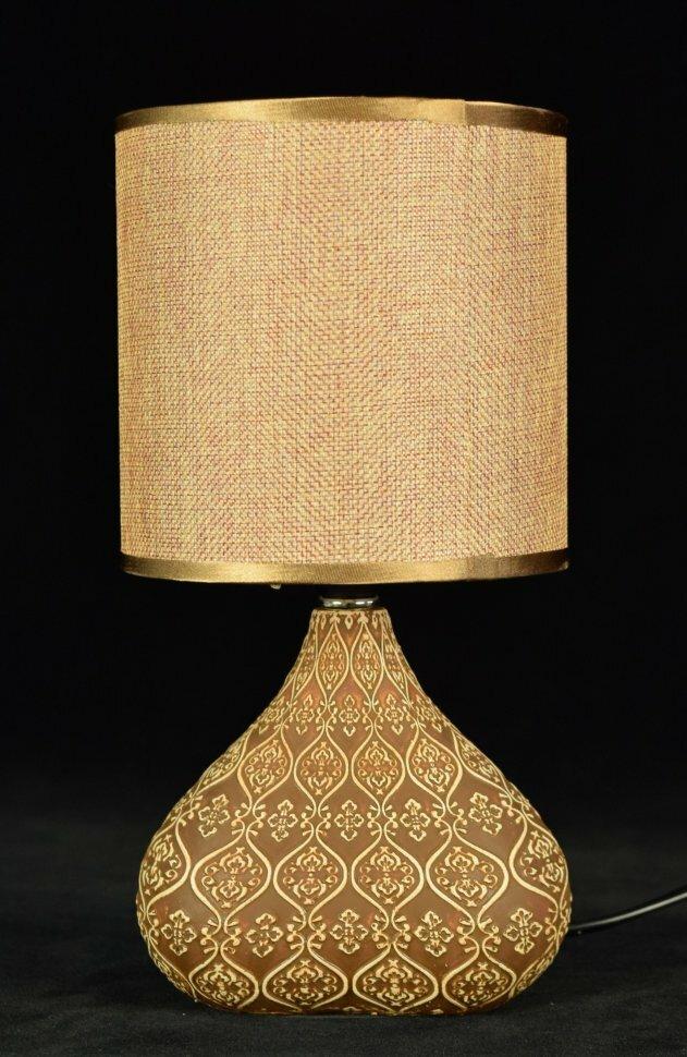Светильник настольный В-HS7285 Light brown