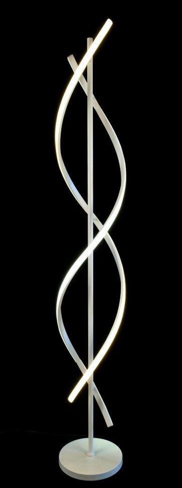 Торшер Светодиодный ФП-K62034-1F WT 300*300*1620 LED 25W