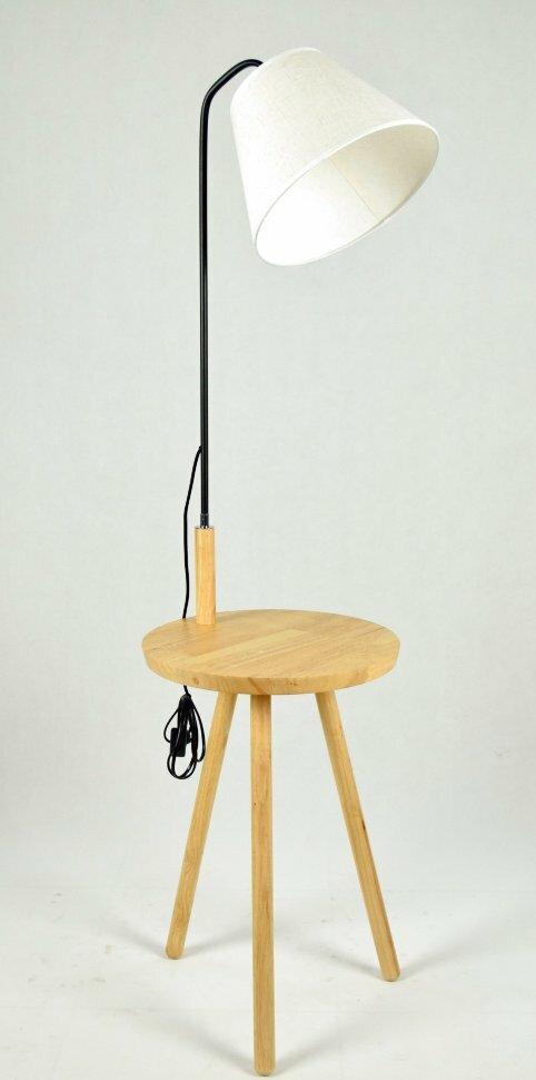 Торшер ФА5008 Wood+Flax