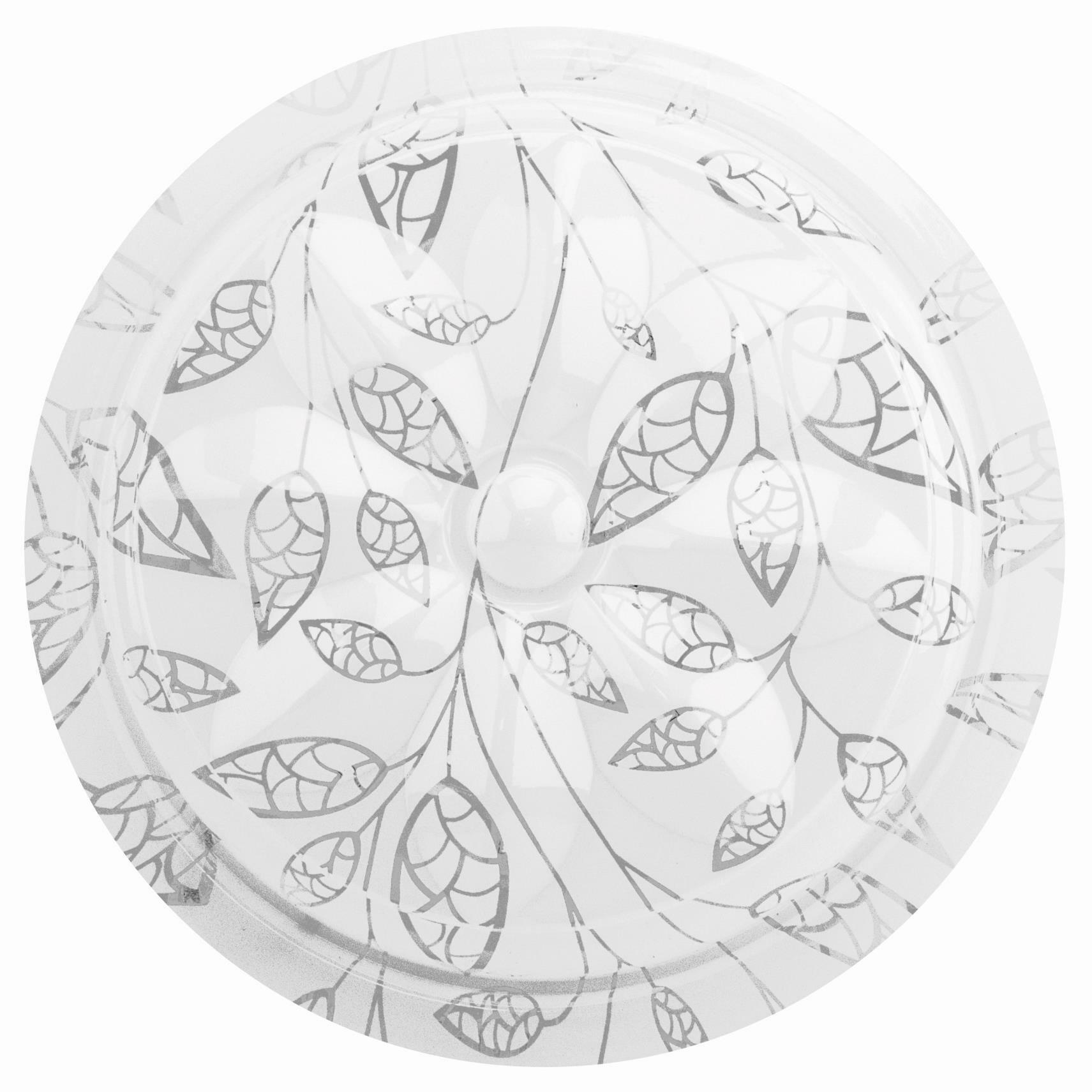 Светильник светодиодный Сюзи LEEK св-к св/д декоративный 30W(2100lm) 6000K 6K Сюзи d375x100мм IP22 СЛЛ 007/039