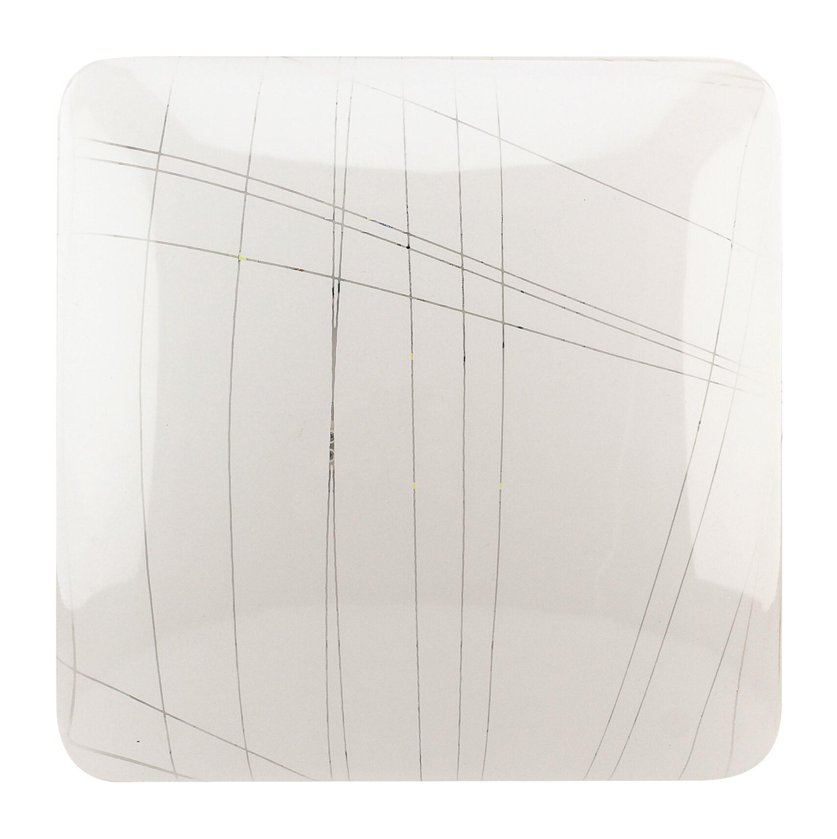 Светильник светодиодный LEEK св-к св/д декоративный 24W(1800lm) 6000K 6K Гранж 350x350x75 квадрат IP22 СЛЛ 036