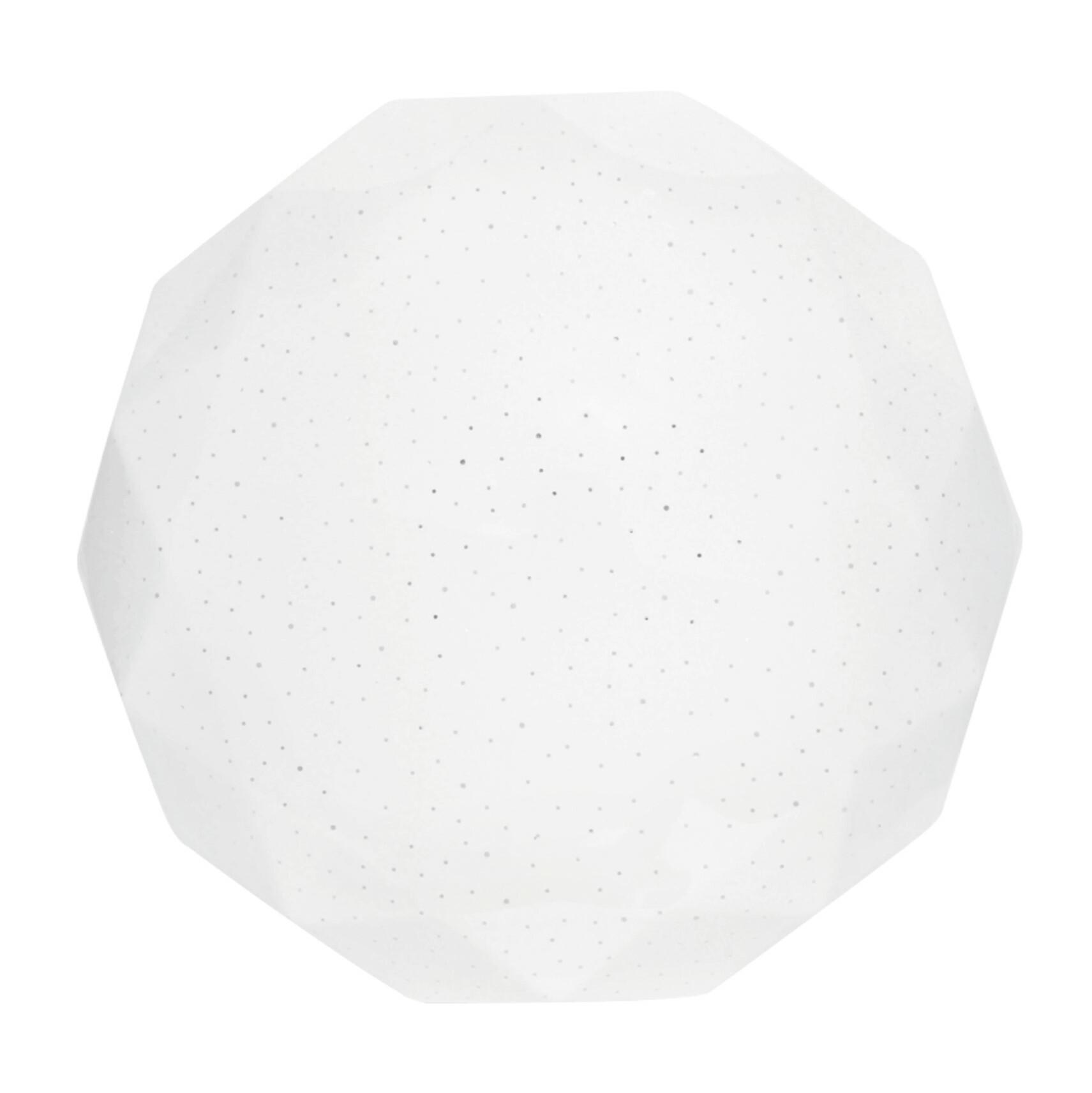 Светильник светодиодный Бриллиант LEEK св-к св/д декоративный 30W(2100lm) 6000K 6K Бриллиант d375x100мм IP20 СЛЛ 041