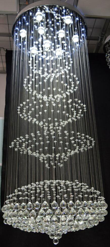 Люстра водопад 6753/9L+LED