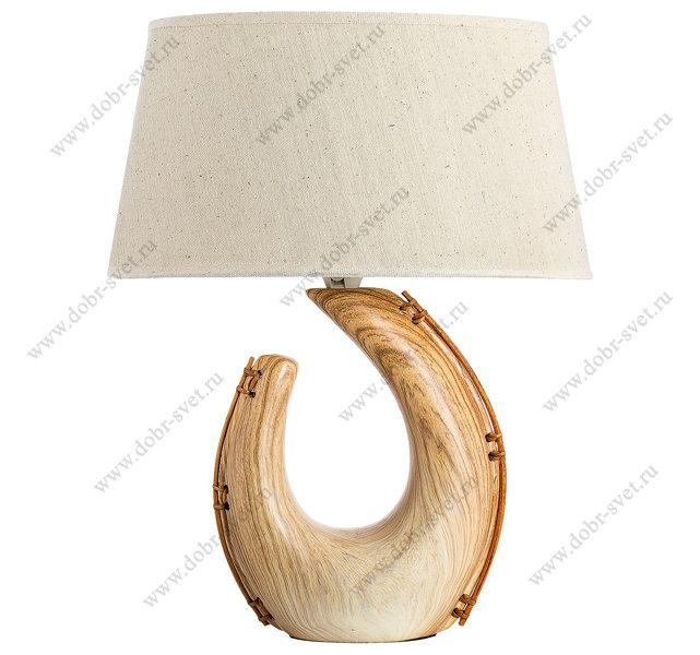 Настольная лампа E363S Light wood