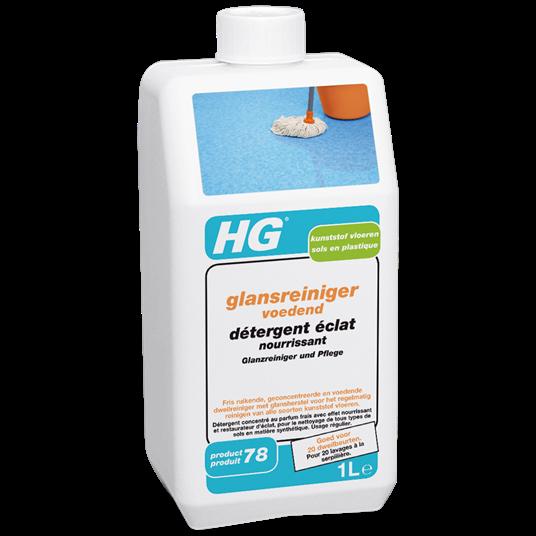 HG kunststof vloeren glansreiniger voedend