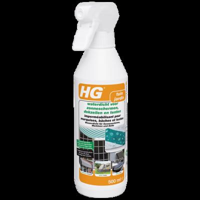 HG waterdicht voor zonneschermen, dekzeilen en tenten