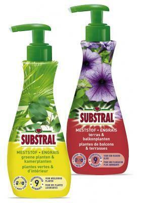 Substral meststofpompjes voor groene en kamerplanten