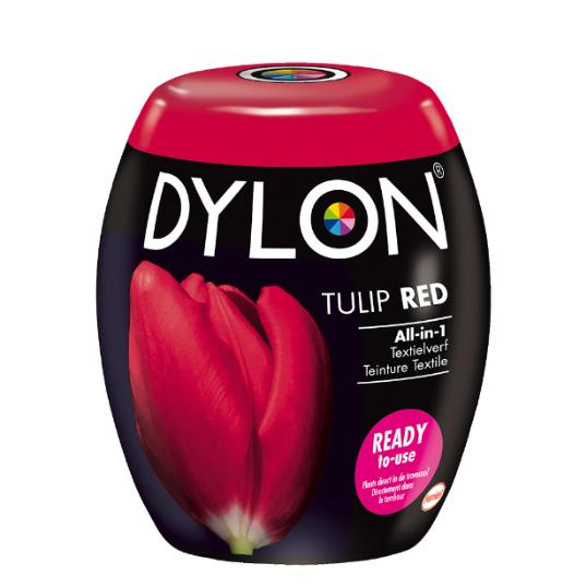 Dylon tulip red