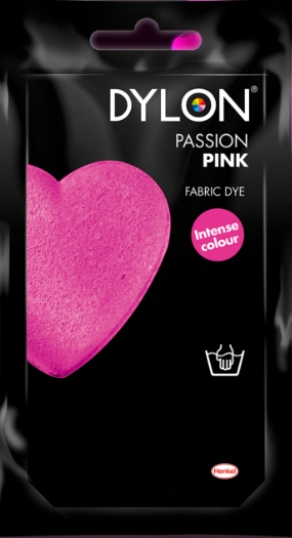Dylon passion pink - Handwasverf