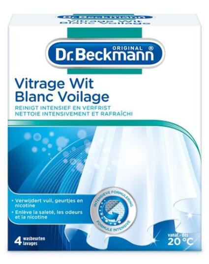 Dr Beckmann vitrage wit