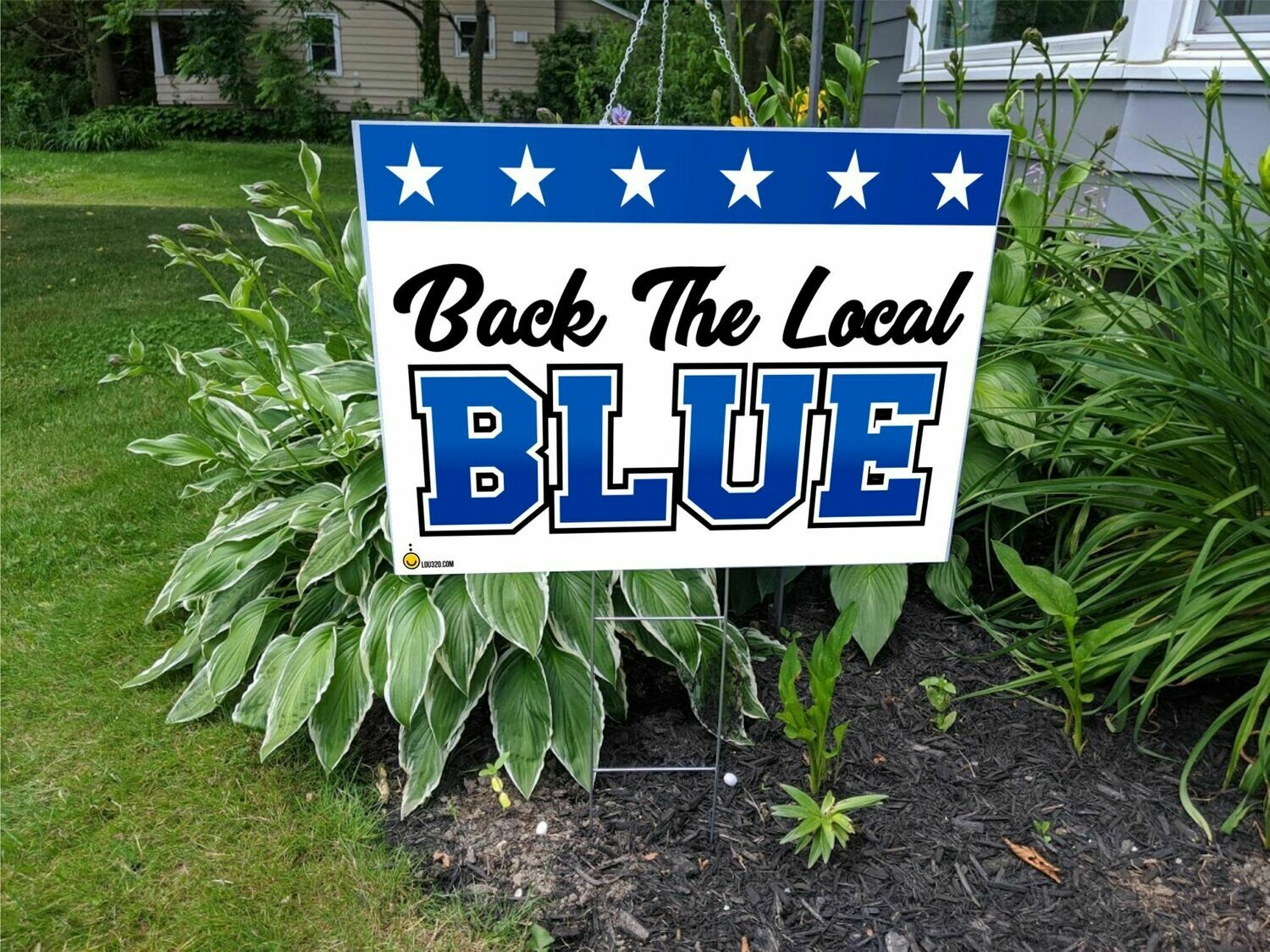 Back The Local Blue