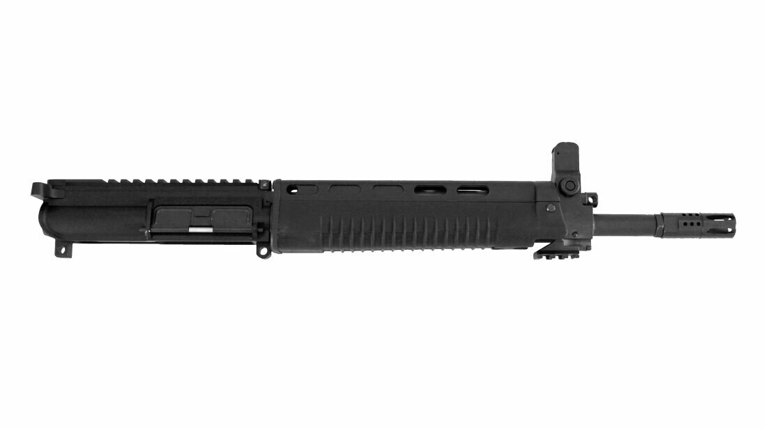 T91 Complete Upper 12.5-inch Heavy Profile Chrome Lined Barrel With Polymer Handguard