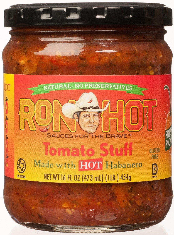 Ron Hot Tomato Stuff Habanero 1 Jar