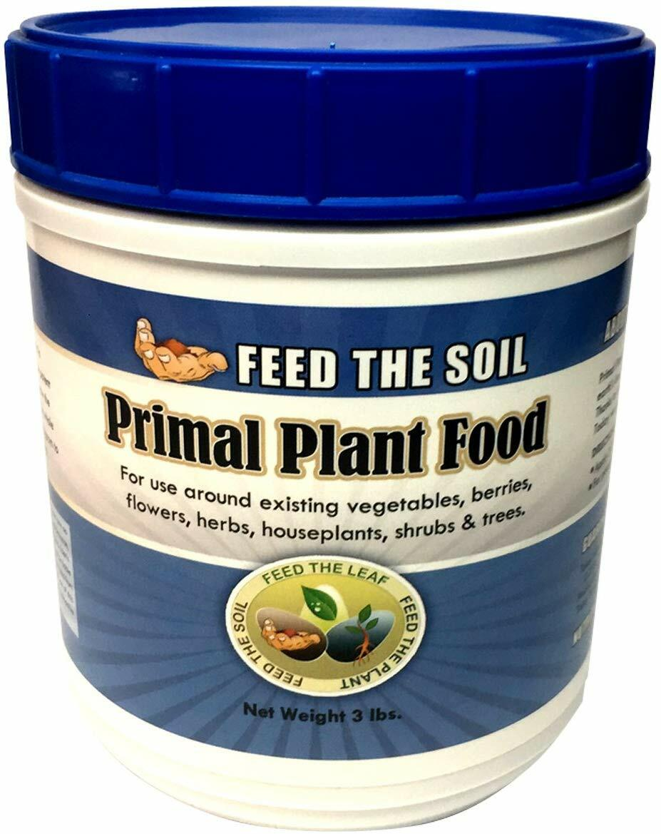 Primal Plant Food - Rock-Powder Based Organic Ingredients, 3 lbs. 00001