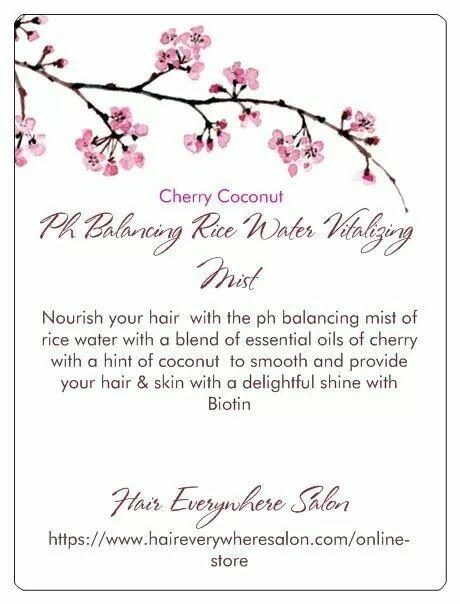 Ph Balance Hair & Skin Rice Water Mist