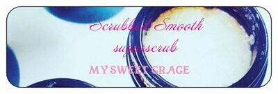 SCRUBBED SMOOTH 2 OZ Sugar Scrubs