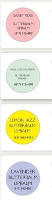 Butterbalms Lip Moisturizing Butter