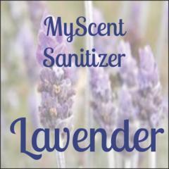 MYSCENT SANITIZERS 4 OZ