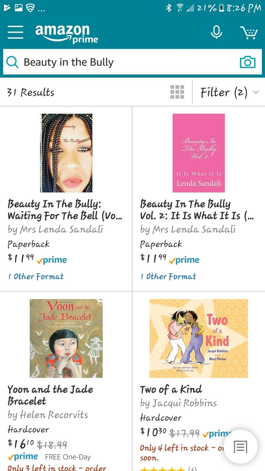 Vol.1 of 3 Beauty In The Bully
