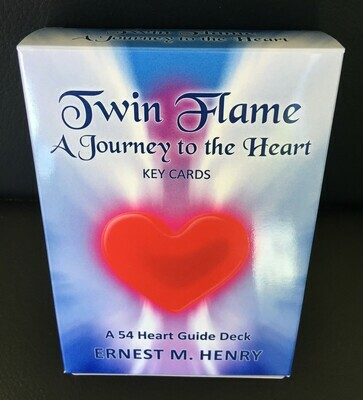 Twin Flame Journey to the Heart Card Deck plus 20 minute skype or phone session